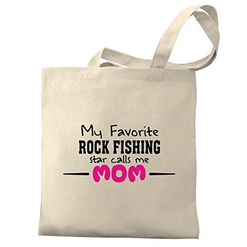 Canvas favorite Eddany Bag star me Fishing calls My mom Rock Tote Uqx58q