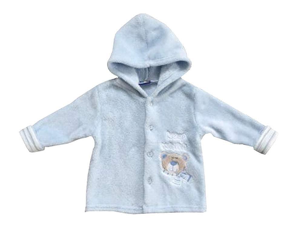 c20069255d lupilu Baby Kuscheljacke Fleecejacke Strickjacke Kapuzenjacke Blau 86/92:  Amazon.de: Bekleidung
