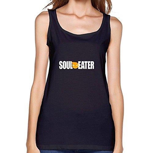 Yhdjk Women's Soul Eater Logo Vest Black XXXL