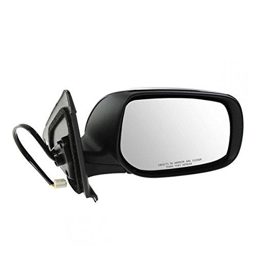 Side View Mirror Power Gloss Black Passenger Right RH for 09-13 Toyota Matrix