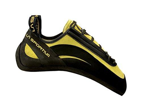 La Sportiva Men's Miura Climbing Shoe, Lime, 41 M EU by La Sportiva