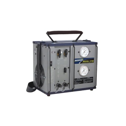 Bacharach 2000-3701 Model FM-3700-S Commercial Refrigerant Recovery Machine with 80% Tank Shut Off, 450 PSI High Pressure Limit, 100/115/230 VAC, 50/60 -