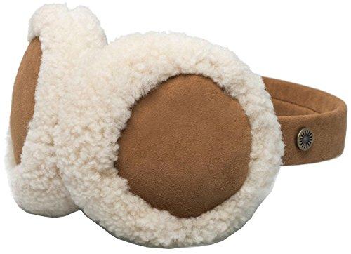 Ugg Shearling Hat - UGG Kids Unisex Classic Sheepskin Earmuff (Toddler/Little Kids) Chestnut Curly One Size