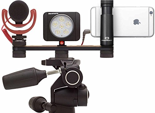 Manfrotto Shoulderpod X1 Professional Rig with Nilox Action Cam (White) by Manfrotto (Image #4)