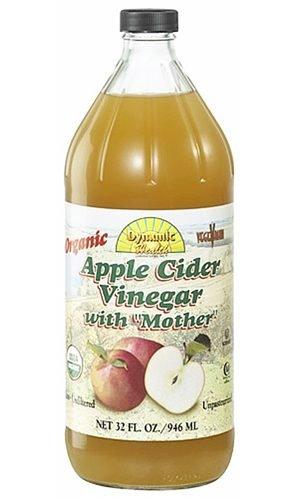 Dynamic Health Яблочный уксус Органическая с мамой, 32 жидкую унцию
