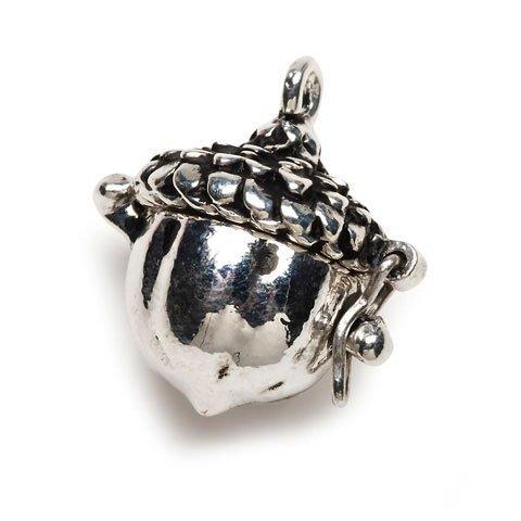 Bulk Buy: Darice DIY Crafts Charm Prayer Box Acorn Antiqued Silver (3-Pack) BG2031 Antiqued Prayer Box Charm