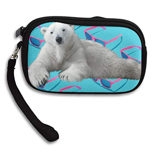 Deluxe Receiving Purse Polar Bear Printing Bag Portable Small Fvwv8qx15