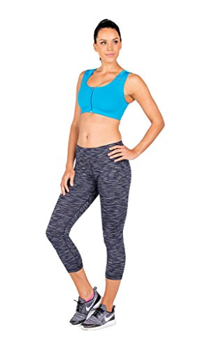 AlignMed AlignSport Sports Bra Seamless (X-Large, Blue) by AlignMed