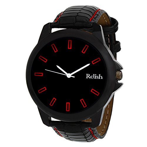 Relish Analog Black Dial Men's Watch Relish-521