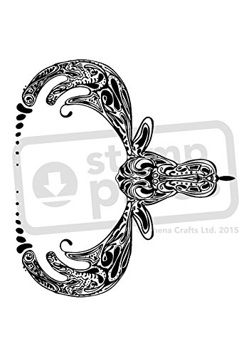 - A7 'Moose Motif' Unmounted Rubber Stamp (SP00004015)