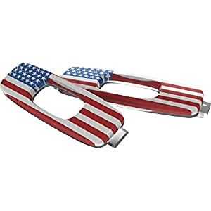 Oakley Icon USA Flag Adult Batwolf Sunglass Accessories - Red/White/Blue / One Size