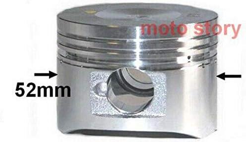 Neuer 125 CCM Zylinder KIT Set KOMPLETT f/ür ZNEN ZN125T-22 125ccm Zylinderkit Unbranded