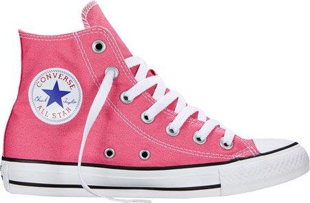 Converse Youth Chuck Taylor Allstar Speciality Hi Lace-Up, Color Rosa, Talla 43.5 C/D EU Mujer/43.5 D(M) EU Hombres 43.5 C/D EU Mujer / 43.5 D(M) EU Hombres|Papel Rosa