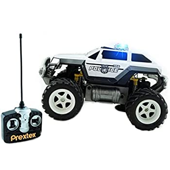 Amazon Com Kidirace Rc Remote Control Police Car For Kids