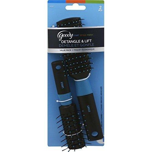 Goody Detangle & Lift Brush Value Pack STYLEm DETANGLER HAIR