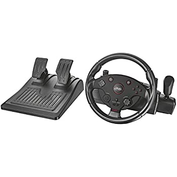Amazon.com: Trust GXT 288 PC & PS3 Racing Wheel with Gear