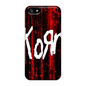 Bumper Hard Phone Cases For Apple Iphone 5/5s With Allow Personal Design High-definition Korn Skin RobAmarook