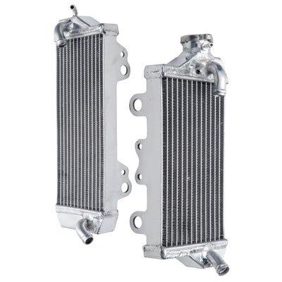 Tusk Aluminum Radiator Set - Fits: Kawasaki KX450F 2006-2008