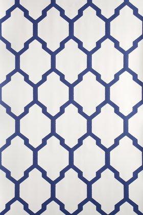 Farrow Ball Bp3604 Tessella Wallpaper Blue Amazon Co Uk