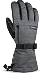 The Dakine Titan brings a feature set appropriate for gloves twice the price. Behind the Titan weather Shield shell and Rubbertec palm, a GORE-TEX waterproof breathable insert protects the high loft insulation from melting snow and ice. A rem...