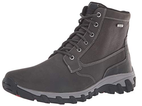 (Rockport Men's Cold Springs Plus Mid Boot Boot, grey, 11.5 W US)