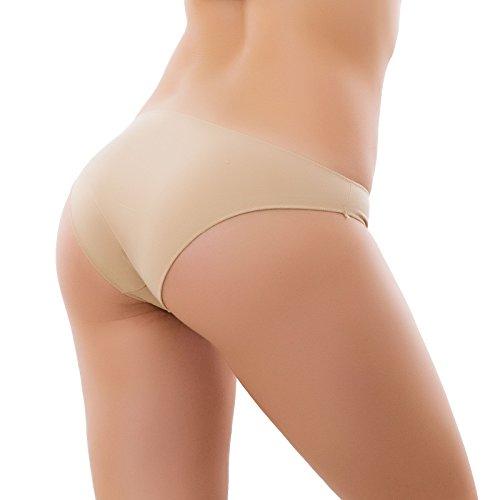 170 cotone Beige Toocool Slip basic nuovo mutandina donna liscio elasticizzata WwCUwx1q8T