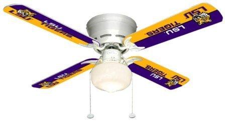 Ceiling Fan Designers 7999-LSU New NCAA LSU TIGERS 42 in. Ceiling Fan