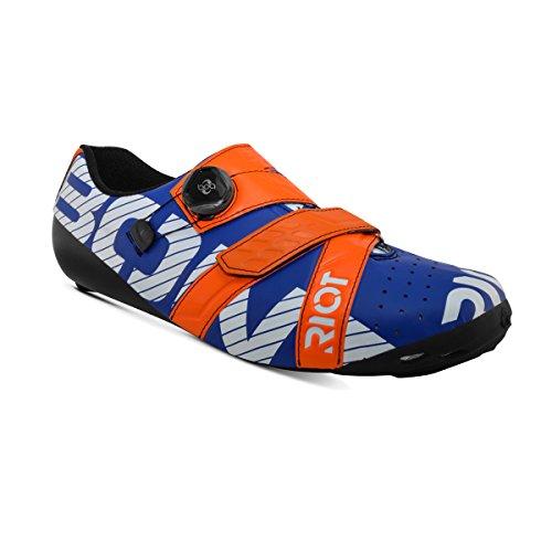 意気込み操縦する親密なFisherアウトドアBont – Riot Boa Road靴2017、パールホワイト/ブラック、45 EU