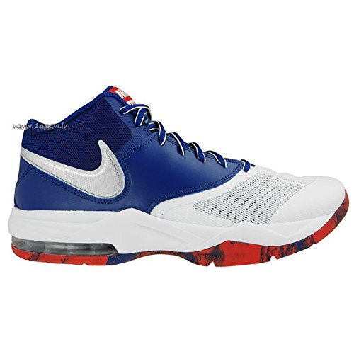 Blue White Max deep Scarpe Emergent Metallic Air Silver da Royal Bianco Uomo Basket NIKE 4w1OqxAn