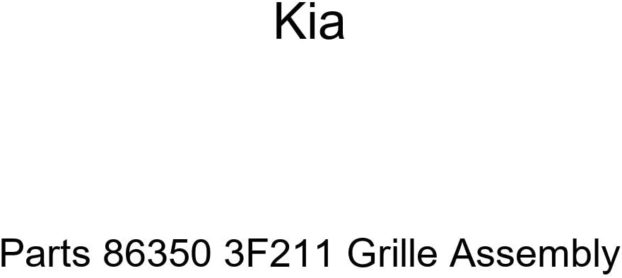 Genuine Kia Parts 86350-2F050 Grille Assembly