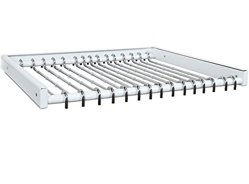 Schulte Organized Living freedomRail Reveal Pant Rack - W...