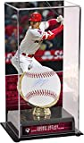 Shohei Ohtani Los Angeles Angels Autographed Baseball and 2018 AL Rookie of the Year Gold Glove Display Case with Image - Fanatics Authentic Certified