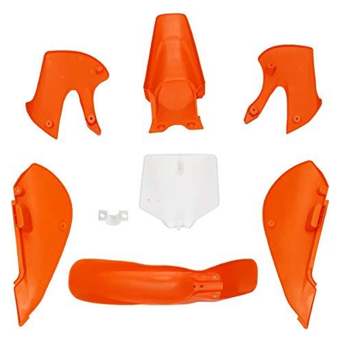 Value.Trade.Inc - Plastics for Fender Fairing Kit for Kawasaki KLX 110 KX65 110cc PIT Dirt Bike for SUZUKI DRZ-110