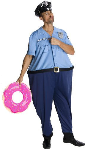 Rubie's Costume Lots Of Love Officer Glutz Costume, Blue, Standard