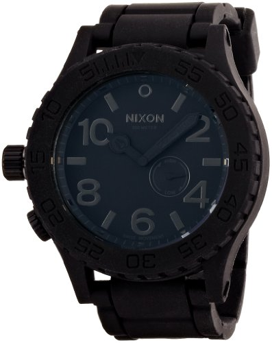 [ニクソン]NIXON RUBBER 51-30: BLACK NA236000-00 メンズ