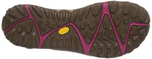 Merrell Womens All Out Blaze Setaccio Water Shoe Rosso