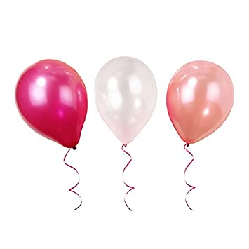 Talking Tables Latex Birthday Pink Balloons