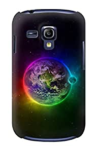 E2570 Colorful Planet Funda Carcasa Case para Samsung Galaxy S3 mini