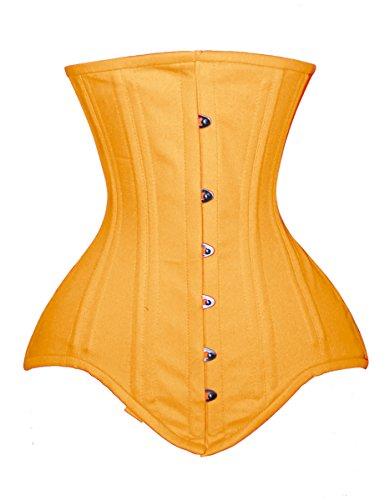 luvsecretlingerie - Corsé - para mujer amarillo