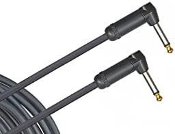 Planet Waves American Stage Instrument Cable, Dual Right Angle, 10 feet