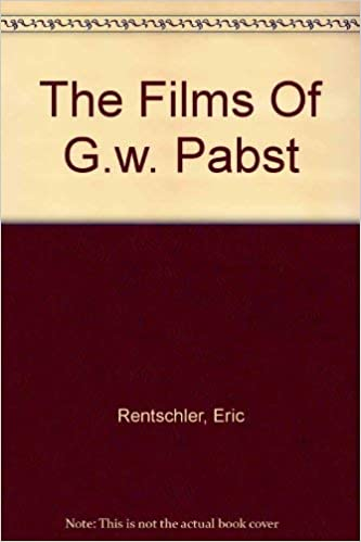 Amazon Fr The Films Of G W Pabst An Extraterritorial