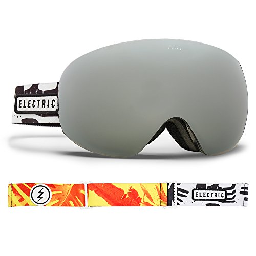 Electric Visual EG3.5 Jungle Hands/Brose Silver Chrome Snow Goggle by Electric