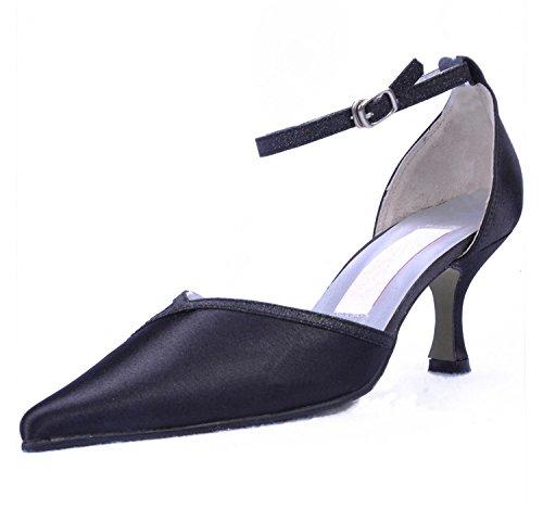 Minitoo , Escarpins pour femme - noir - Black-6.5cm Heel,