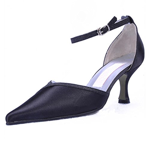 Minitoo , Damen Pumps Black-6.5cm Heel