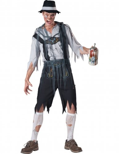 Zombie Mens Oktoberfeast Costumes - InCharacter Costumes Men's Oktoberfeast Zombie Costume,