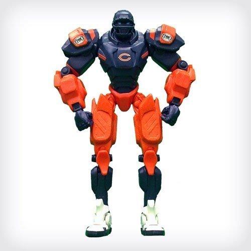 "Chicago Bears 10 ""Team Cleatus FOX Robot NFL Football action figure Version 2.0"