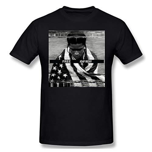 Free ASAP Rocky, A$ap Rocky Mens Suitable.Morden Black XXL T-Shirt