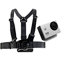DURAGADGET Adjustable Chest Harness Mount With Quick Release-Buckle For Extreme Sports Action Camera SJCam SJ4000 & New SJ5000 | SJ5000x Elite | SJ5000 Plus