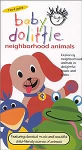 Amazon.com: Baby Dolittle Neighborhood Animals [VHS]: Baby