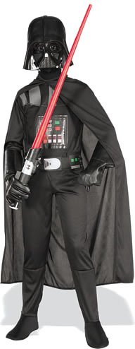 Star Wars Darth Vader Standard Child Costume, Medium